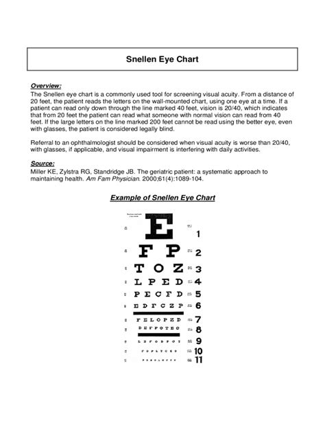 eye chart   templates   word excel