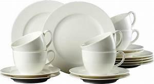 Kaffeeservice 18 Teilig : via by r b kaffeeservice porzellan 18 teilig otto ~ One.caynefoto.club Haus und Dekorationen