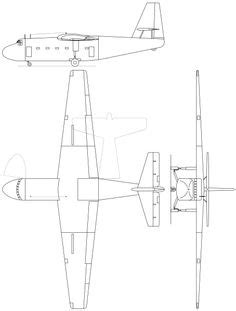 Best Aircraft Orthographic Projections Images
