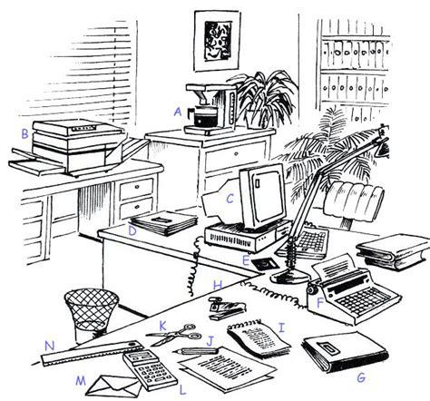 objet de bureau les outils de travail