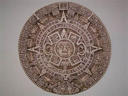 Aztec Calendar Cool Symbol Chicano Deviantart Maya