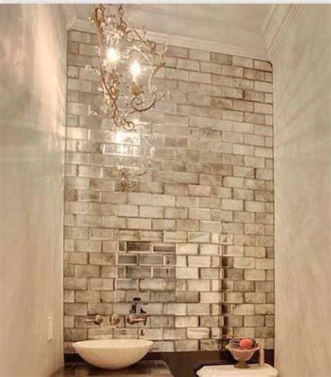 Mirror Tiles Bathroom by Bathroom Antique Mirror Brick Tiles