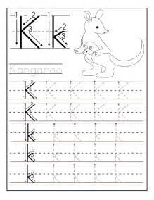 printable letter k tracing worksheets for kindergarten preschool crafts - Letter K Tracing