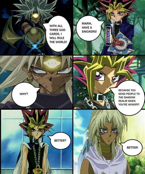 yugioh memes oh yu gi meme anime funny pokemon google yep yugi marik vs yami cutie know duelist found cards