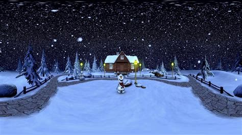 happy holiday vr winter wonderland  virtual reality