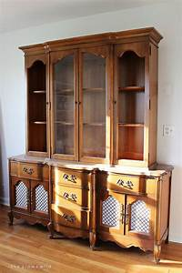 Office Storage Hutch Makeover China cabinets, Hutch