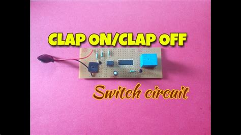 clap switchclap onoff switchusing