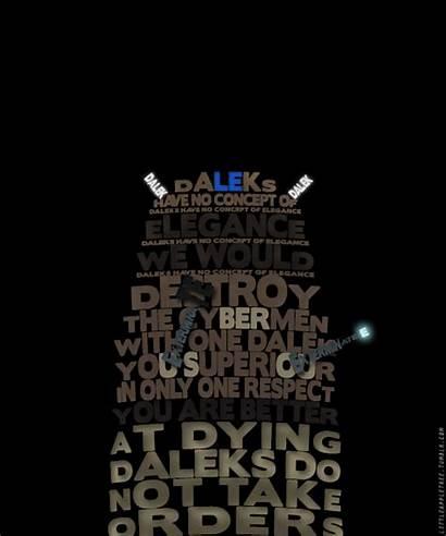 Doctor Quotes Daleks Dalek Background Sayings Dr