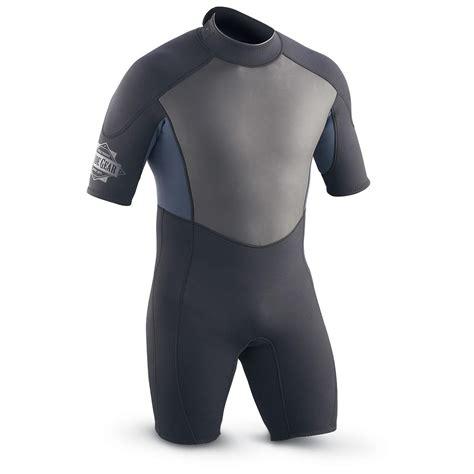 Guide Gear® Adult Shorty Wetsuit, Black / Blue - 109593 ...