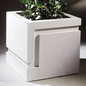 Pflanzkübel Eckig Beton : moderner blumenk bel eckig adelphius ~ Sanjose-hotels-ca.com Haus und Dekorationen