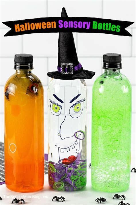 halloween sensory bottles easy  minute kids crafts