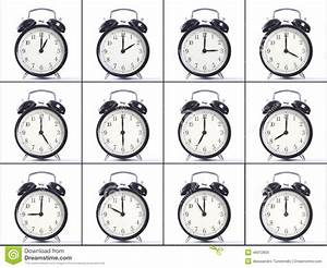 Alarm Clocks Stock Image  Image Of Face  Hour  Circle