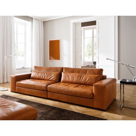 Darrin 89 Leather Sofa by Sofa Moreno Cognac Kleur Prachtig Home Decoration