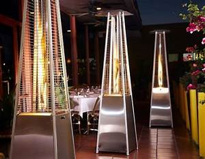 pyramid heater stainless steel gas heater patio heaters With outdoor lights for sale cape town