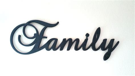 rustic wood signs large wooden family sign wall hanging family by letteredwhimsy