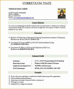 good cv format letters free sample letters With good cv format
