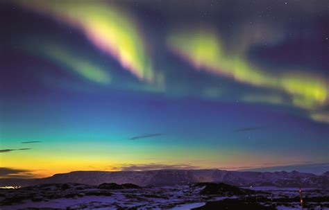 where to see the northern lights to see selection reykjavik iceland voyager