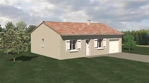 Plan Maison Pas Cher : construction 86 fr plan maison traditionnelle plain pied type 3 ~ Melissatoandfro.com Idées de Décoration