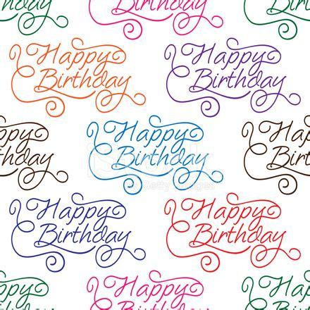 happy birthday seamless background pattern with text happy birthday seamless background pattern stock photos