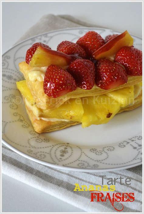 d 233 gustation de la tarte fruits feuillet 233 e 224 l ananas et