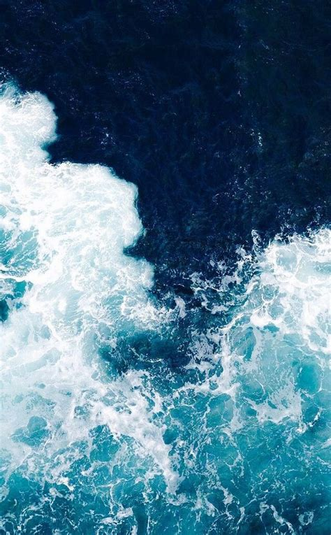Summer Aesthetic Phone Wallpapers simple and aesthetic summer blue wave water phone