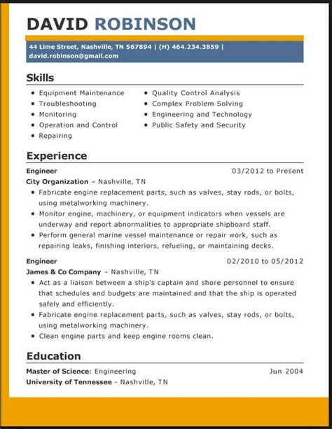 Free Layouts Of Resumes by 85 Best Images About Resume Template On