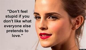 7 Emma Watson Q... Emma Watson Beauty Quotes