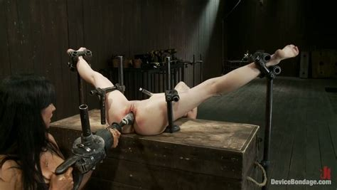 Helpless Skinny Teen Sensi Pearl Is Punished With Fisting