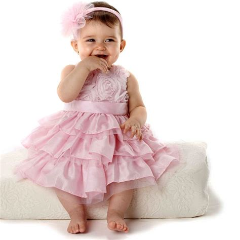Baby Girl Newborn Party Outfits Tutu Skirt Ruffled Dress