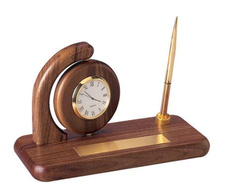 desk clock pen set clock pen sets