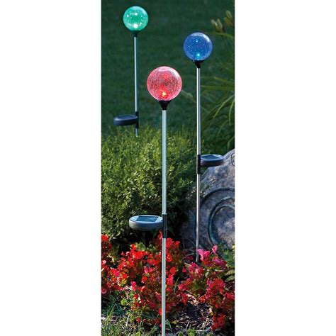 6 pk of westinghouse 174 crackle sphere solar lights
