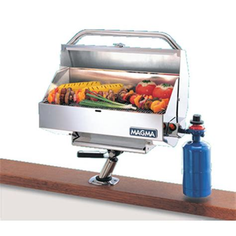 Magma Boat Grill by Magna Newport Gas Grill 174404 Pontoon Accessories At
