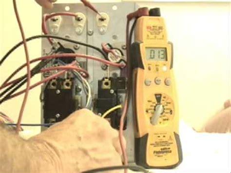 hvac electric heat strips youtube