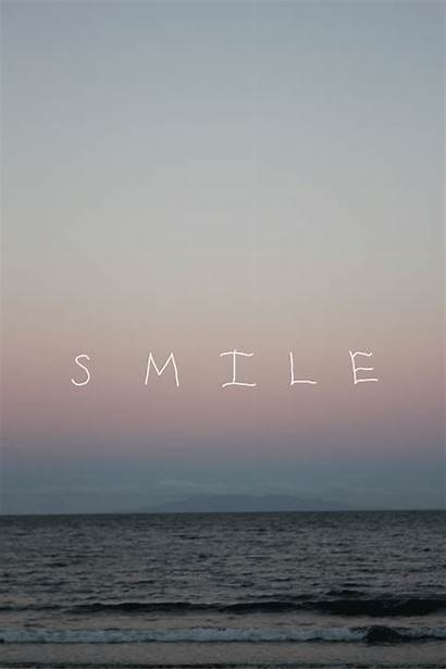 Smile Positive Inspirational Quote Beach Vertical Gifs