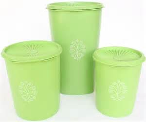 green kitchen canister set vintage tupperware kitchen canister set containers apple green
