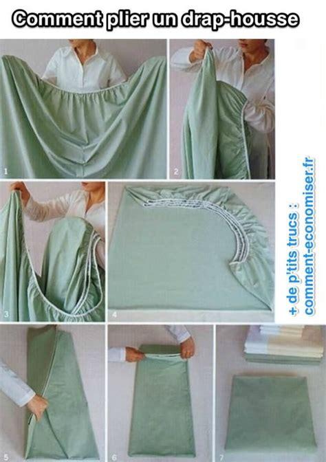 enfin une astuce pour plier un drap housse facilement