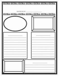 Newspaper template classroom freebies newspaper and for Free printable newspaper template for students