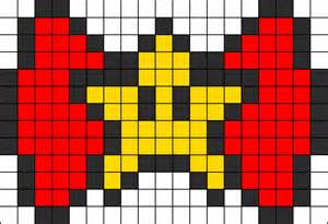 how do you make hair bows bow perler bead pattern bead sprites