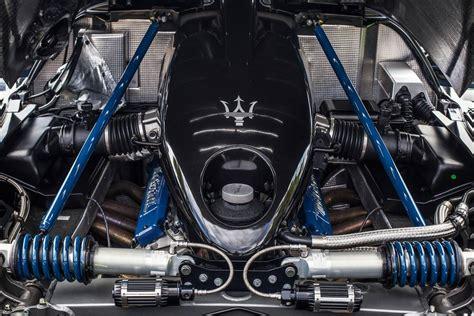 maserati v12 engine the worlds only black maserati mc12 for sale the