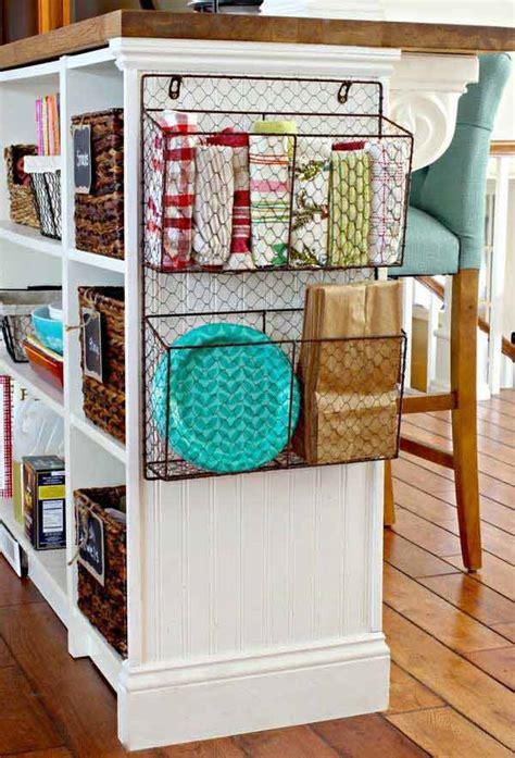 genius ideas   baskets  extra storage