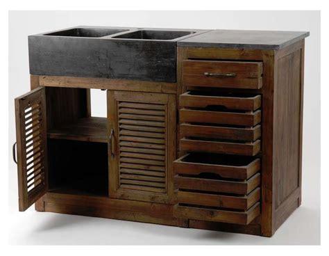 meuble bois cuisine table rabattable cuisine meuble de cuisine bois