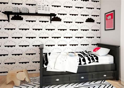 papier peint chambre d enfant sublimez vos int 233 rieurs en mettant un papier peint blanc