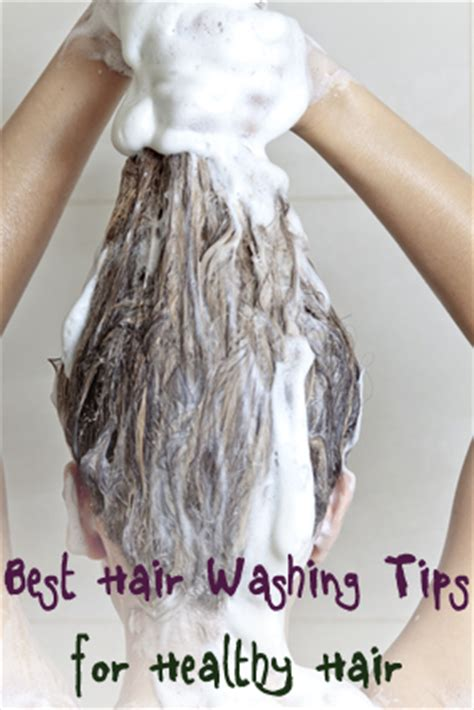 Best Hairwashing Tips For Healthy Hair  Brick & Glitter