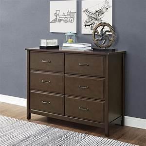 Dorel, Home, Furnishings, Maxton, Mocha, 6-drawer, Dresser, -, Home, -, Furniture