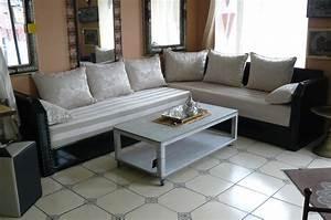 davausnet salon et canape moderne avec des idees With tapis jaune avec acheter canape convertible pas cher