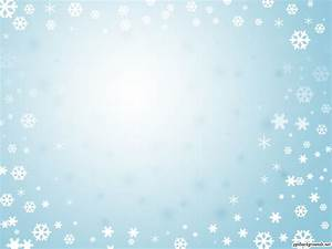 Christmas Winter Blue Frame Powerpoint Backgrounds Ppt ...