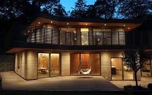 Casa De Madera Curvada Al Vapor Realizada Por Un Dise U00f1ador De Muebles