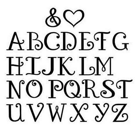 pin  fonts alphabets