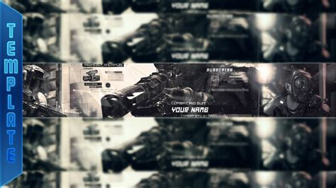 Banner Template Call Of Duty Infinite Warfare by Call Of Duty Infinite Warfare Banner Template Psd By