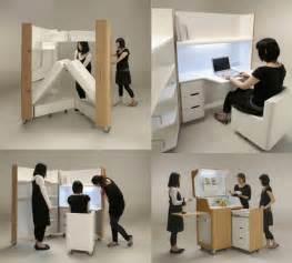 kenchikukagu foldable rooms by toshihiko suzuki